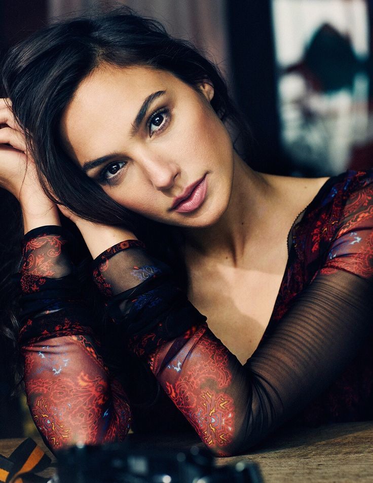Gal Gadot- beautiful, Brave and oh yes... Wonder Woman!
