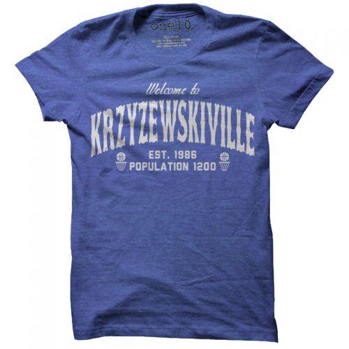 Welcome to Krzyzewskiville T-Shirt, Duke Basketball