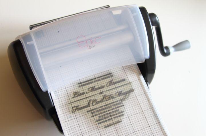 DIY Letterpress Wedding Invitations - Blog - homeandawaywithlisa