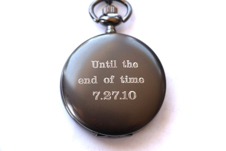 Groom Gift Pocket Watch, Engraved Mens Pocket Watch, Monogrammed Watch, Personalized Groomsman Gift, Gift for Groom, Wedding party Gifts by EngravingsOnDemand on Etsy https://www.etsy.com/listing/240179274/groom-gift-pocket-watch-engraved-mens
