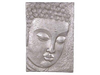 CH Furniture Silver Buddha Face Picture £247.50
