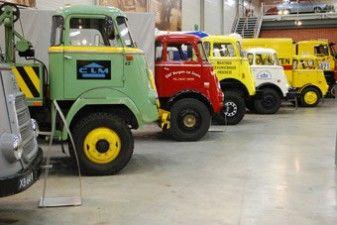 DAF Museum Eindhoven. Van vrachtwagens tot snelle sportwagens. Voor de echte autoliefhebber onder ons. www.mare4you.nl - Belevingsdag.