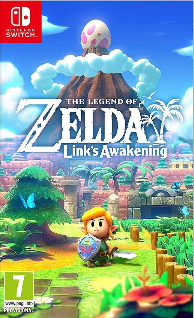 The Legend Of Zelda Link S Awakening Switch Download Code Juegos De Consolas Consola De Juegos Nintendo