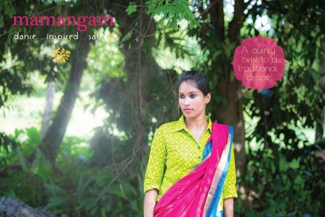 10% OFF! Dance inspired #sarees! Shop for this collection at http://bit.ly/1xGBKqg