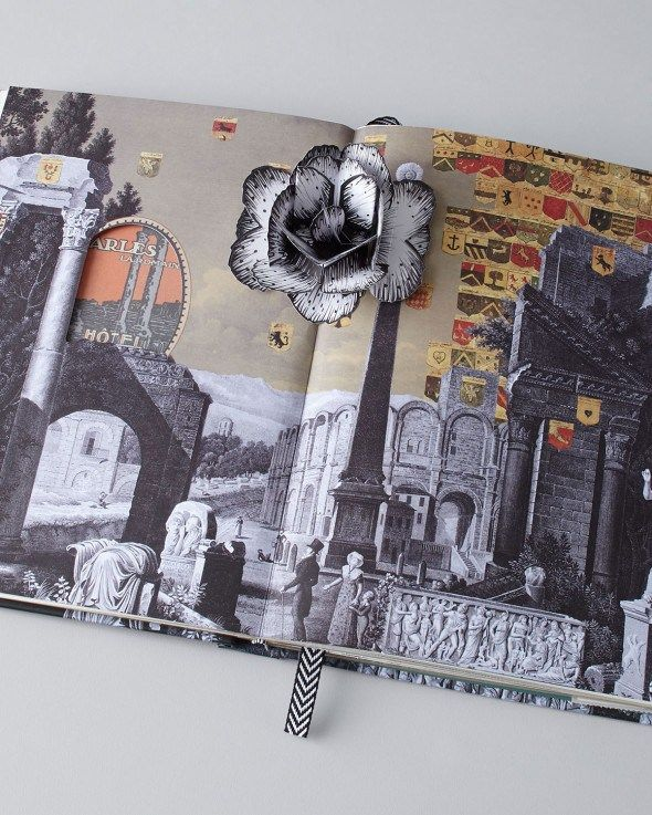 Christian Lacroix Voyage Pop-Up Journal - Record your travels in vintage pop-up style.