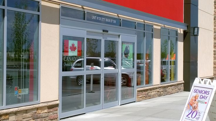 Commercial Store Front Glass by Airdrie Windshield & Glass