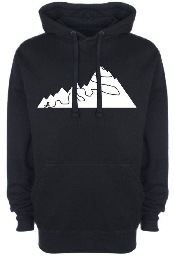 Montagne sentiers Mens Womens Hoodie VTT Mountain Biking Road Racing BMX Retro Geek Tour de France cyclisme vêtements NEW