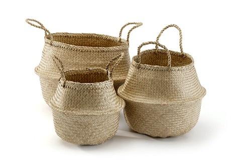Rice Basket Mini Large Baskets Belly Basket Basket