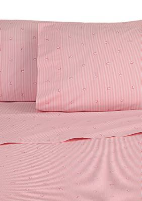 Southern Tide Girls' Skipjack Stripe Twin Sheet Set -  - No Size