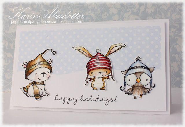 Happy Holidays with Purple Onion designs!