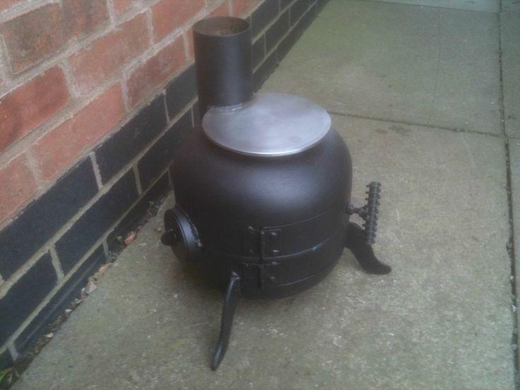 micro burner pot belly stove / gas bottle woodburner / boat stove / log burner