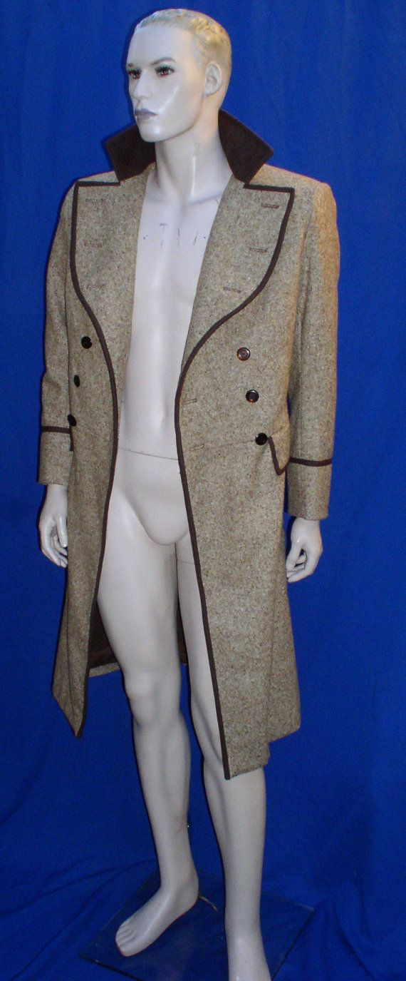 Dr. Who 4th Dr. Tom Baker FROCK COAT Costume Prop by magicwardrobe, $1995.00