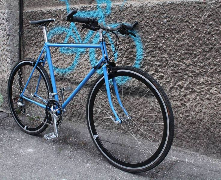 Custom bicycle - equipped with Shimano Tiagra