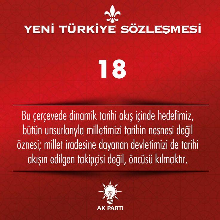 18.Madde, #YeniTürkiyeSözleşmesi