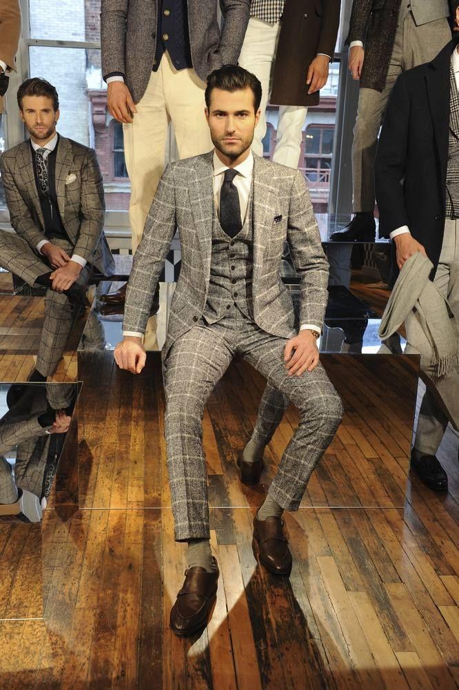 Siempre elegante, la colección de invierno de Suit Supply se presentó en el marco de la semana de la moda de Nueva York