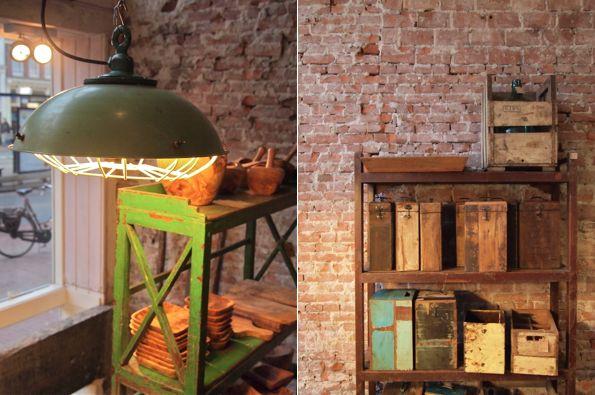 Raw Materials, Amsterdam (via brightbazaar.blogspot.com)Exposed Bricks, Bricks Wall, The Bricks, Raw Materials, Raw Bricks, Bricks Wood Mettl, Amsterdam, Expo Bricks, Brightbazaar Blog