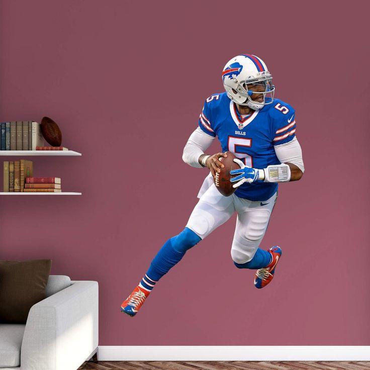 Fathead NFL Buffalo Bills Tyrod Taylor Wall Decal - 12-21646