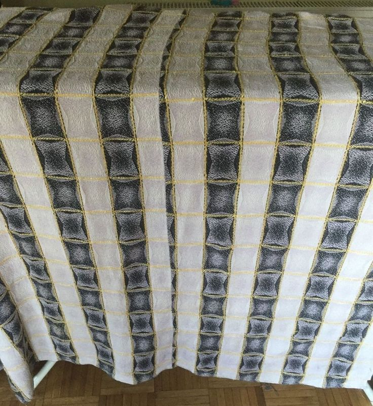 stunning vibrent 1950s large WOVEN fabric curtains ,135CM LENGH  by 160 CM WIDE