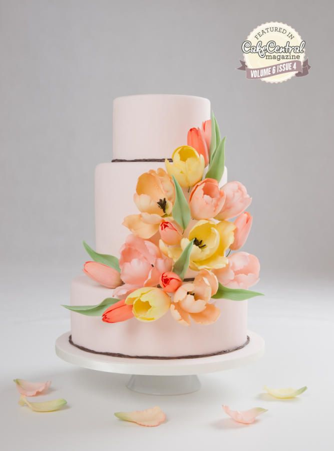 This Is My New Cake Inspired By Elie Saab Fashion I Have Been Invited Central Magazine To Create A For