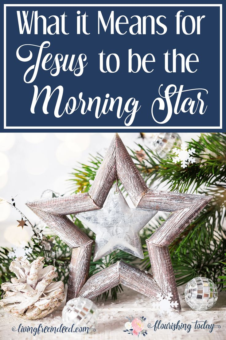 What does it mean for Jesus to be the Morning Star? Join us as we search the scriptures for the Names of Jesus this Christmas. #MorningStar #NamesofJesus #Christmas
