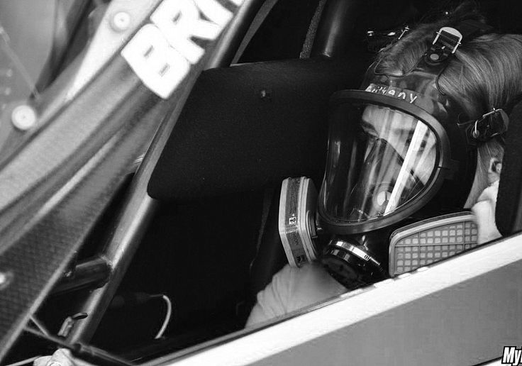 Brittany Force concentrated