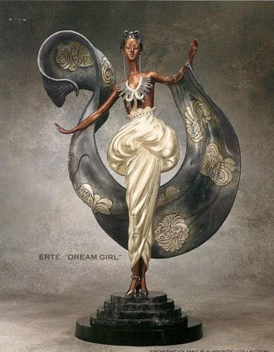 Erte Art Deco Figurine 'Dream Girl'                              …