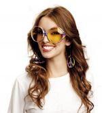 Brýle - Hippie - pruhované 80Kč