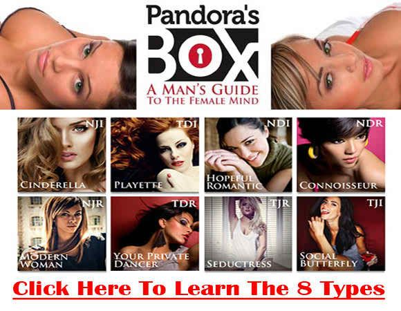 Dating Products  Hey there :I am going to show you what I think about Vin Dicarlo Pandora's Box and you will learn the 3 questions that will help you get the girl. Now, I've found lot's of reviews all over the internet, but nothing was actually explaining what the system was or how it worked. So I wrote this review to help guys like me, who are looking for more information on the program.
