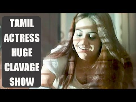 Tamil actress cleavage show latest 2015 full hd