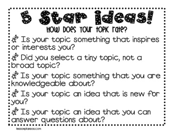 best trait writing ideas images teaching how will your students know if they picked an appropriate topic to write about teach them how to choose a good topic to write about by using this