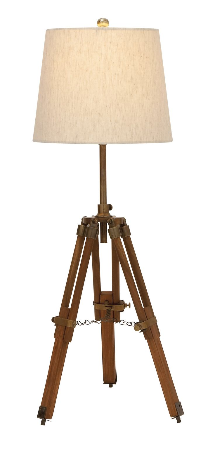 Tripod 2 Piece Table Lamp Set