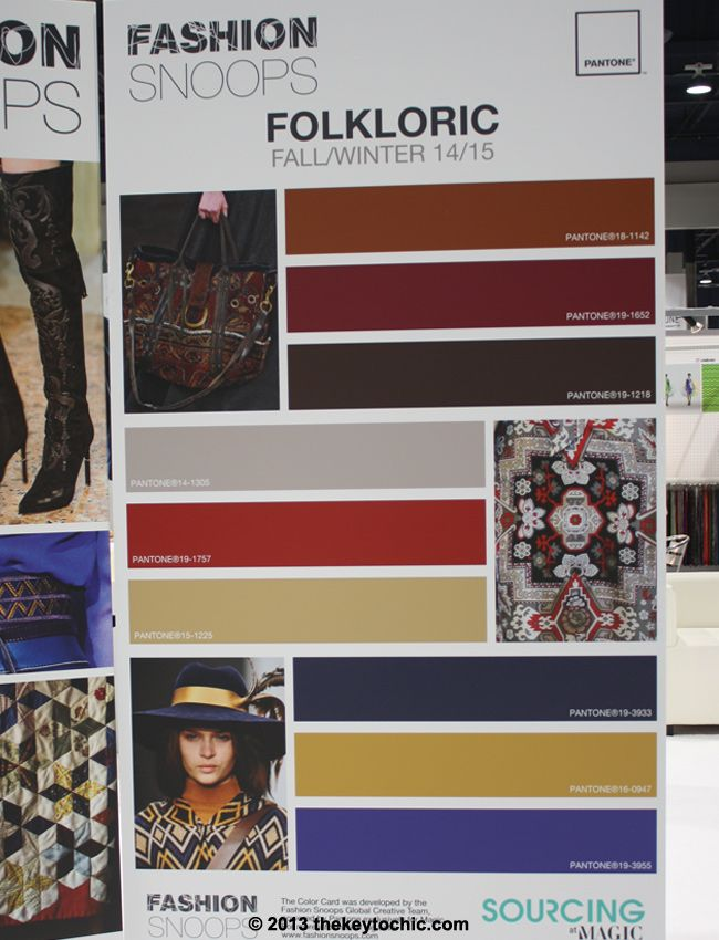 Folkloric trend color palette for fall 2014 winter 2015 #trendforecasting #fashionsnoops: Color Palettes, Aw Trends, Fall 2014, 2013 2015 Colors, Fashion Trends, Colour Palette, Color Trends, Folkloric Trend