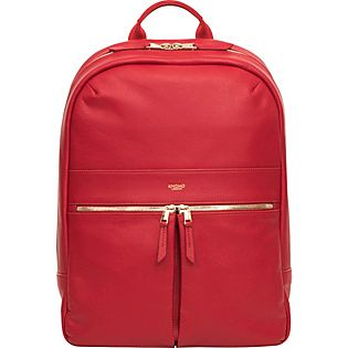 Buy the KNOMO London Mayfair Luxe Beaux Backpack at eBags - Travel in total comfort with your essentials stashed inside this ultra-chic leather backpack from KN