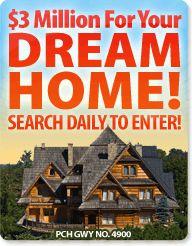 Pch dream home contest