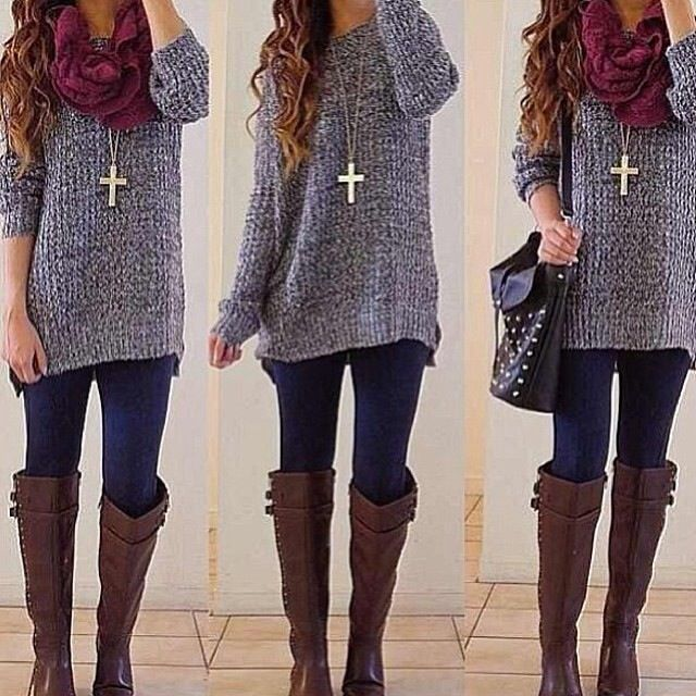 Cute winter outfit