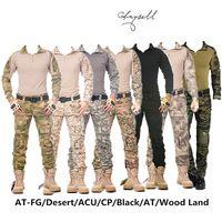 tarnung taktische militärische kleidung Paintball armee cargohosen cargohosen multicam militar taktischen hosen mit kniepolster