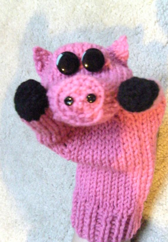 Adorable pig mittens!