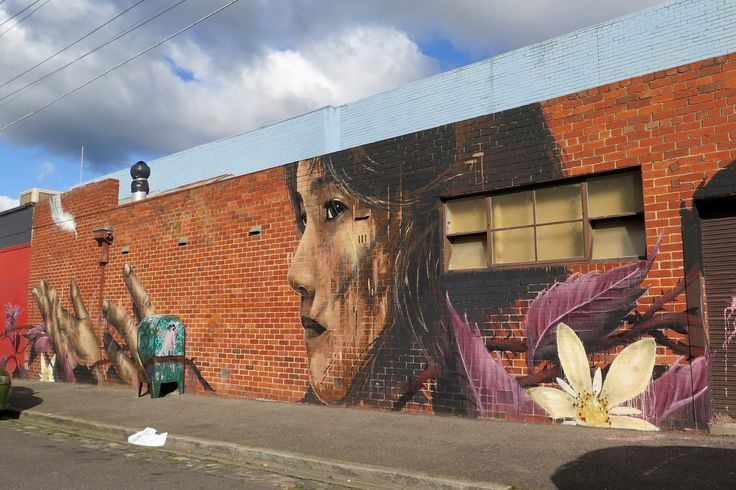 Camscale creates a new mural in Thornbury, Melbourne