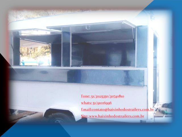 Trailer lanchonete  ,carrinhos ,food truck,reboques - Outros serviços - Todo o Brasil