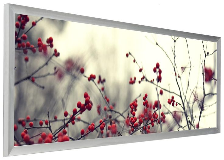 40 x 13.5 Panoramic Picture Frame, Wall-Mounting, 1-inch Profile - Silver, PRINT IS NOT INCLUDED 119932