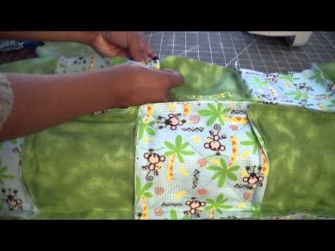 My Rag Quilt Tutorial - Part 4: Let's Finish Sewing!! In this fourth part, we will finish sewing and start clipping our rag quilts