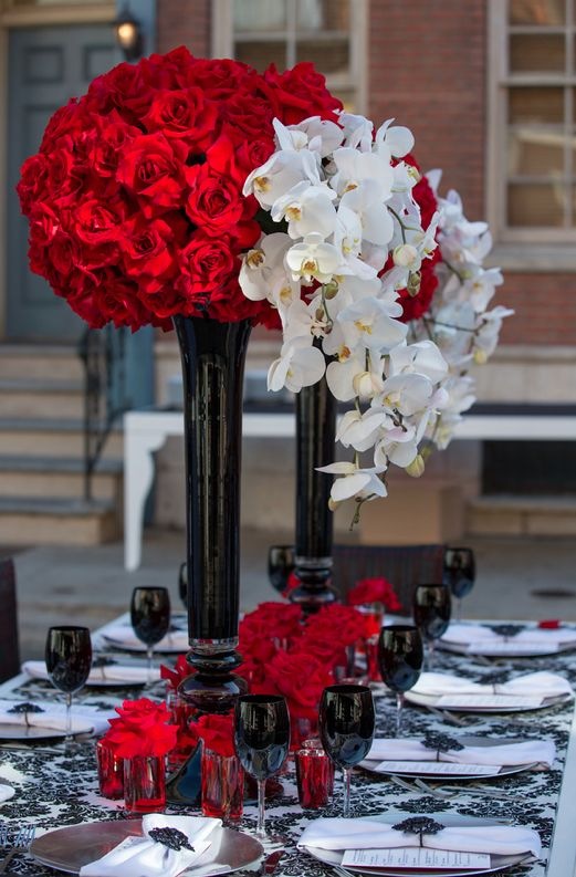 46 Best Images About Red Rose Quinceanera Theme On