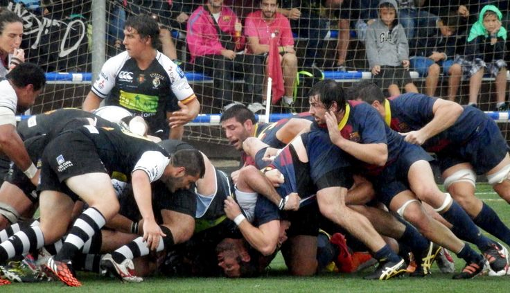 FC Barcelona Rugby vs El Salvador. Jornada 3. #DHRugby. #fcbrugby  28-9-14