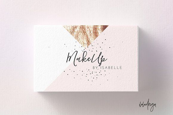 20 Awesome Business Card Templates For Small Businesses Business Cards Beauty Business Card Design Cool Business Cards