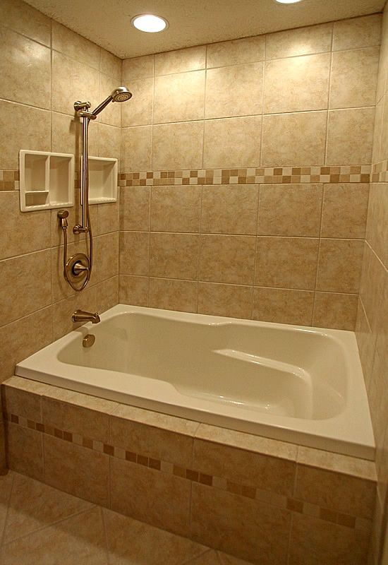 Bathroom Tub Shower Ideas Part - 38: Bathroom Ideas For Small Bathrooms | Small Bathroom Remodeling Fairfax  Burke Manassas Remodel Pictures .. Shower Ideas BathroomBathroom  TubsBathroom ...