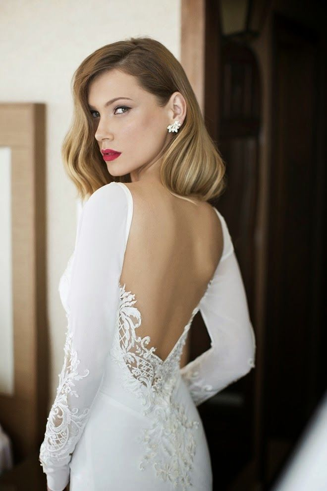 Swooning for Sleeves: Winter Wedding Style | | TopWeddingSites.com