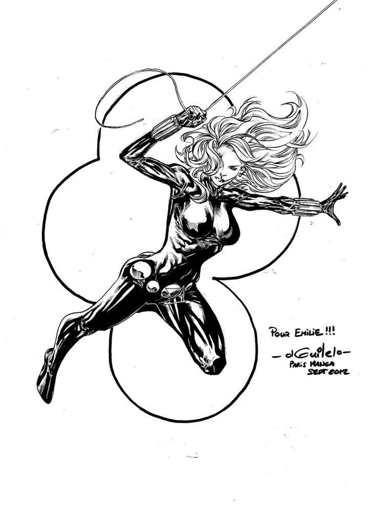 Black Widow - Paris Manga SciFi Show (sept2012) by SpiderGuile