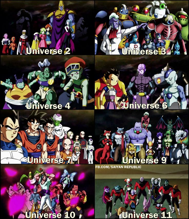 Dragon Ball Manga Tournament Of Power: All Participants Of The Tournament Of Power