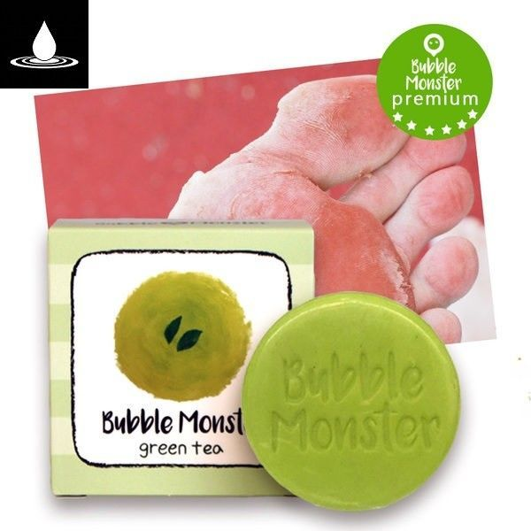 HAPPY NEW $20.18 BUBBLE MONSTER GREEN TEA FOOT SOAP for Removal Foot Exfoliation #BUBBLEMONSTER