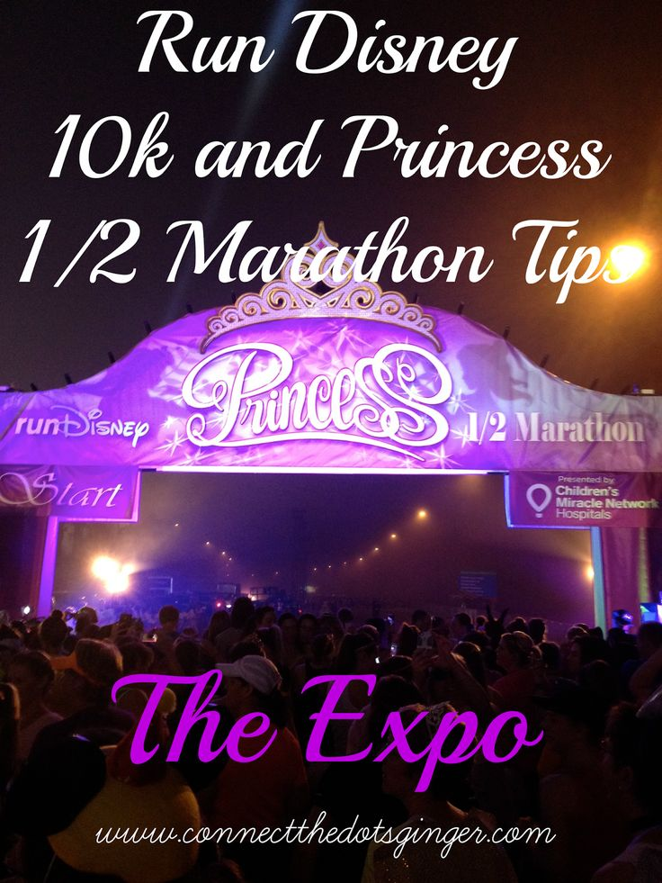 Disney Princess 1/2 Marathon Tips For New Runners: The Expo